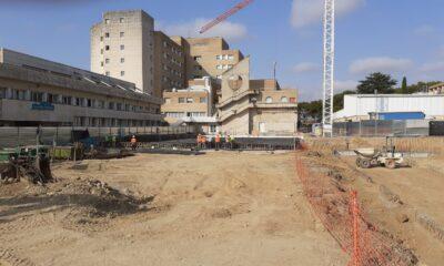 Obras del Hospital San Jorge (Huesca)